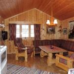 Stuekroken med sofa og to stoler