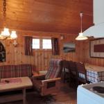 Bilde fra stuen i hytten