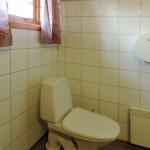 Bilde av toalettet i hytten